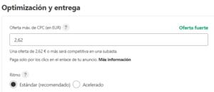 Optimización y entrega de tu campaña en Pinterest