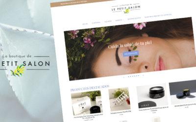 Le Petit Salon: un ecommerce personalizado